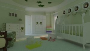 دکوراسیون متفاوت و لوکس اتاق نوزاد پسر