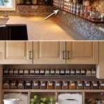 ایده های عالی برای مرتب کردن وسایل روی کابینت در آشپزخانه