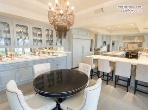 آشپزخانه های بسیار شیک و مجذوب کننده ستاره های معروف