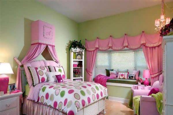 طراحی دکوراسیون اتاق خواب دخترانه مدرن و دوست داشتنی