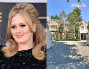 دکوراسیون خانه دلباز و زیبای ادل در بورلی هیلز کالیفرنیا