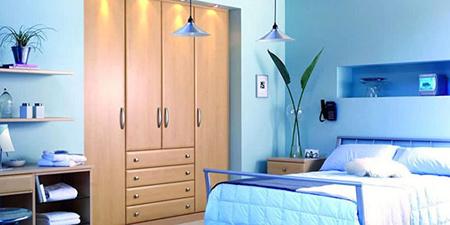 رنگ هايي براي اتاق خواب