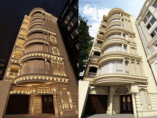 نماهای ساختمانی برتر