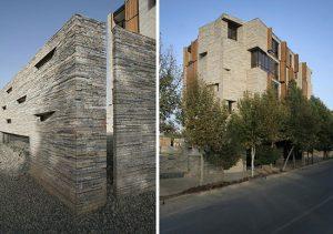 طراحی نمای ساختمان و معماری خلاقانه و زیبا
