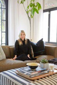 طراحی داخلی خانه شیک و دوست داشتنی استایلیستی در کالیفرنیا
