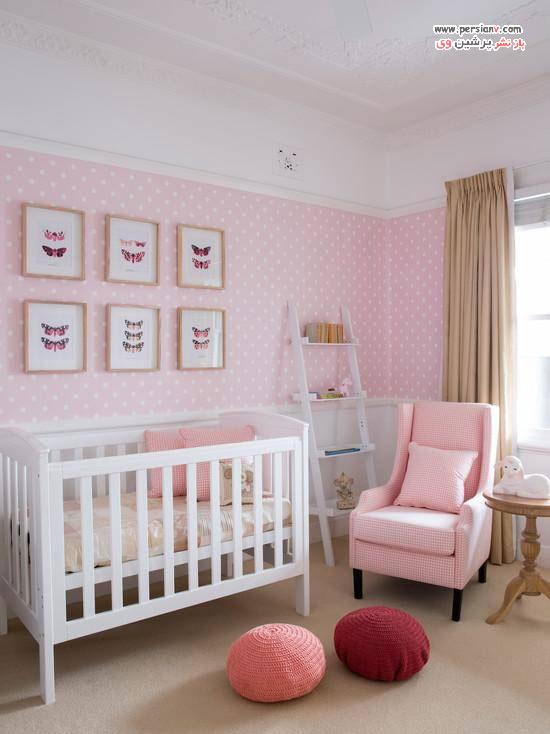 طراحی اتاق نوزاد به رنگ خنثی