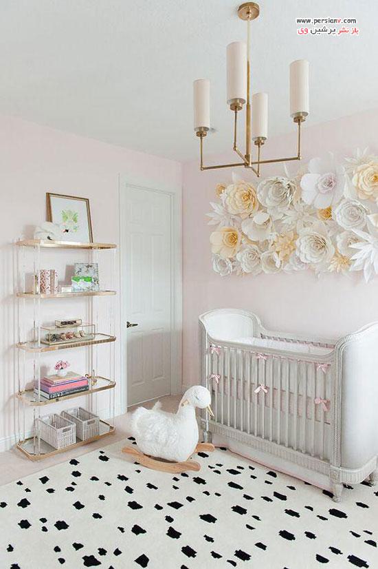 ایده های طراحی و دکوراسیون اتاق نوزاد به رنگ های خنثی