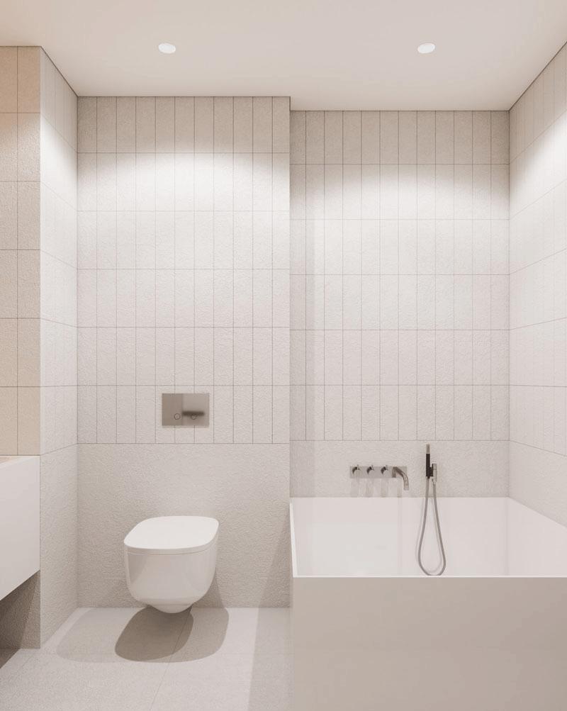 طراحی داخلی آپارتمانی یک خوابه