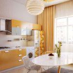 انواع مدل پرده آشپزخانه برای دکوراسیون های امروزی