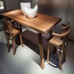 مدل های جدید میز ناهارخوری چوبی با طراحی شیک و ساده