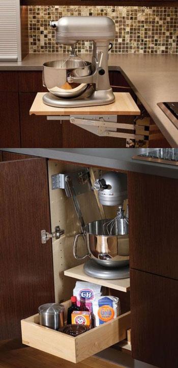 کابینت های هوشمندانه برای آشپزخانه