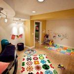 انواع مدل های فرش برای اتاق خواب کودک