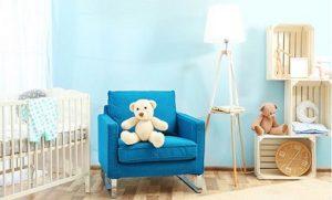 اصول فنگ شویی اتاق نوزاد