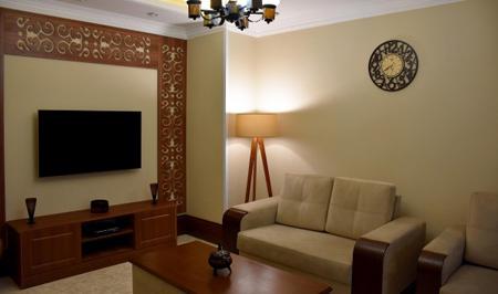 دکوراسیون تلویزیون LED