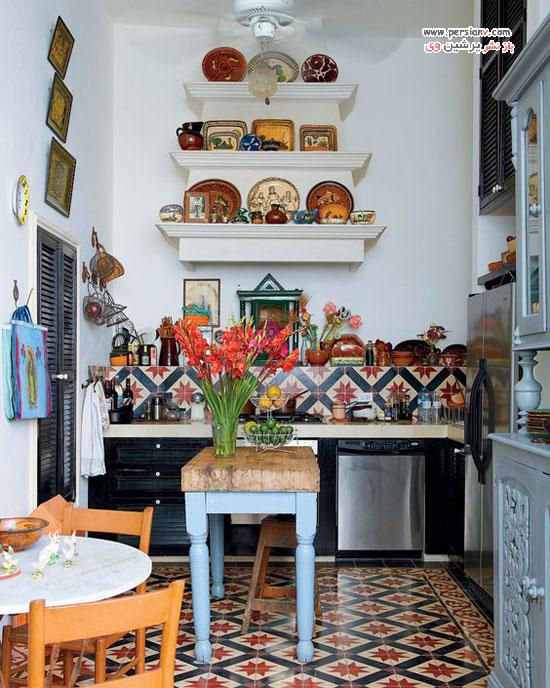 آشپزخانه سبک بوهمیایی