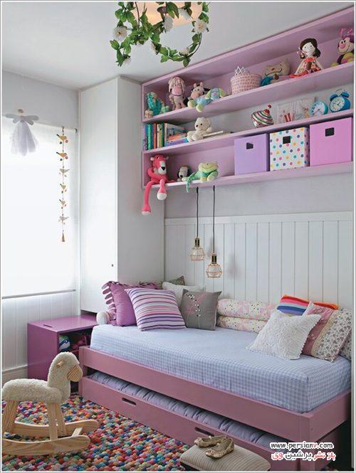 دکوراسیون رنگارنگ اتاق کودک