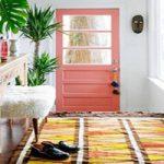ایده های شاد و دوست داشتنی برای رنگ آمیزی درب های منزل