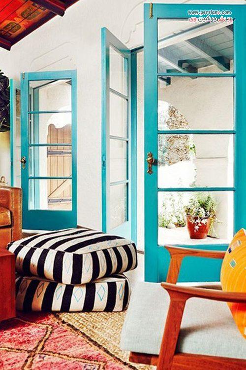 رنگ آمیزی درب منزل