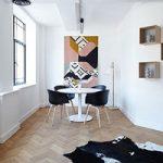 روش تزیین دیواری های بی روح و سفید در منزل