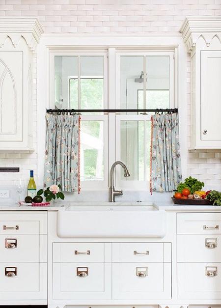 زیباترین مدل پرده آشپزخانه