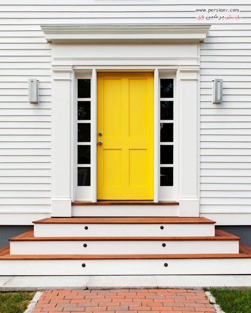 شخصیت شناسی رنگ درب خانه