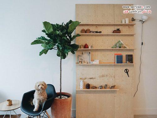 طراحی داخلی آپارتمان نقلی
