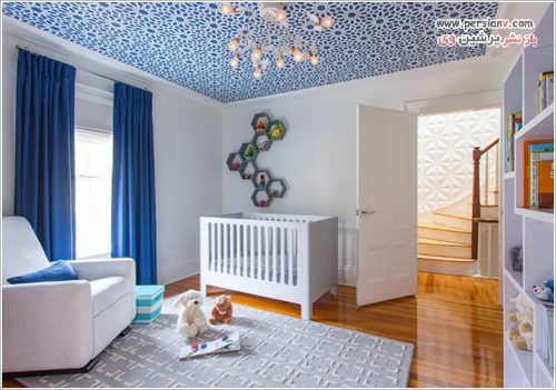 دکوراسیون طرح دار اتاق کودک