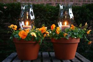 استقبال از بهار با ساخت فانوس های دکوری زیبا برای حیاط و باغچه