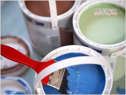 نکات رنگ زدن خانه