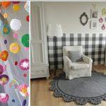 ایده های زیبا برای استفاده از هنر قلاب بافی در دکور اتاق کودک