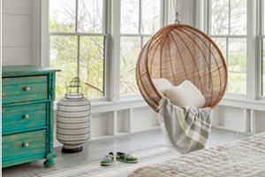 ایده هایی از نحوه کاربرد حصیر چوبی در چیدمان اتاق خواب