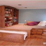دکوراسیون اتاق خواب کوچک و زیبا و ایده هایی برای جا دادن وسایل در آن +عکس