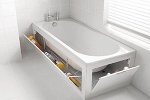 دکوراسیون وان و جکوزی در حمام های کوچک + تصاویر