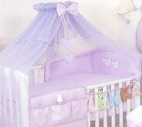 تزئین تخت کودک در چیدمان سیسمونی نوزاد + تصاویر