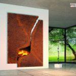 شومینه های غیرمعمول و عجیب و غریب در طراحی داخلی منزل! +عکس