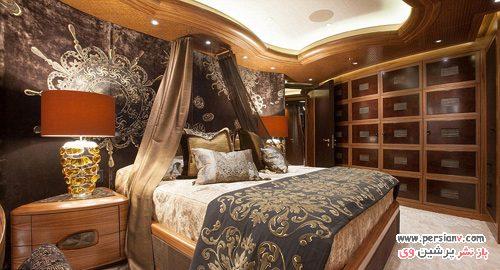 طراحی داخلی قایق تفریحی