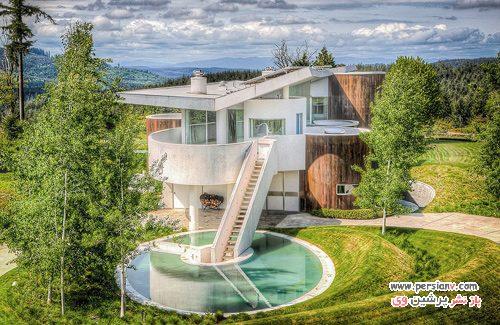 خانه ای به سبک سفینه فضایی