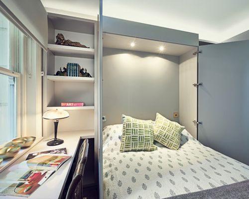 تختخواب براي خانههاي كوچك