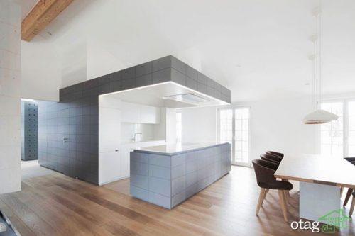 طراحی داخلی کابینتها