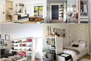 جاسازی وسایل در خانه های کوچک با طراحی های هوشمندانه