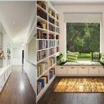 مدل های طراحی کتابخانه خانگی در دکوراسیون منزل