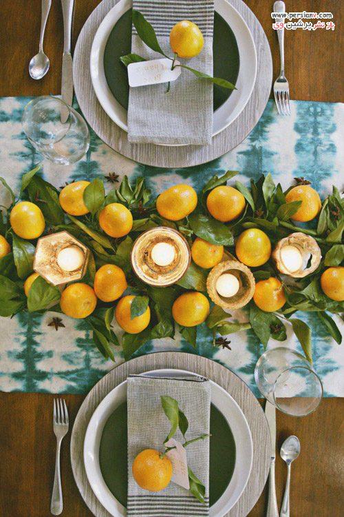 تزیین میز غذاخوری