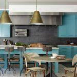 ایده های منحصربه فرد برای دکوراسیون آشپزخانه آبی