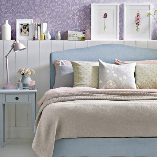 پیشنهادات زیبا برای تزیین اتاق خواب با وسایل ساده و کم خرج