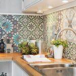 ۱۰ ایده باشکوه از دکوراسیون آشپزخانه ترکیه ای سفید رنگ