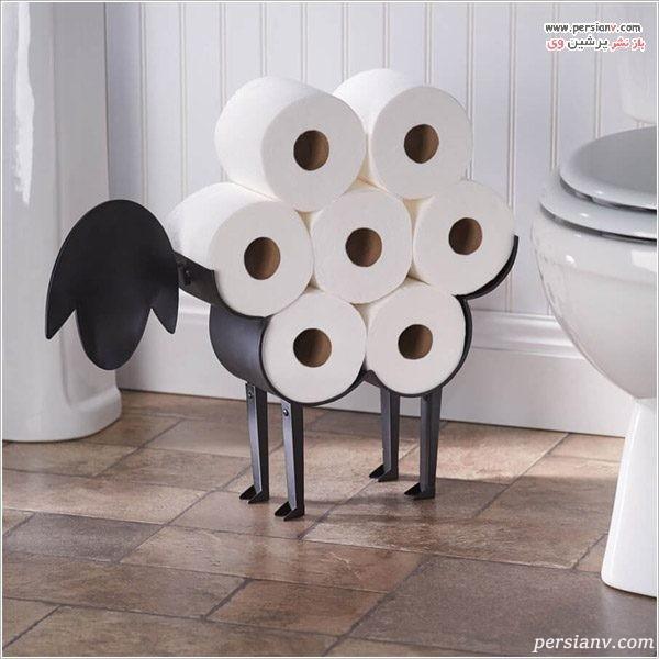 جا دستمالی سرویس بهداشتی