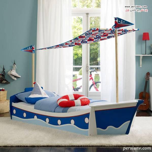 دیزاین اتاق خواب پسرانه