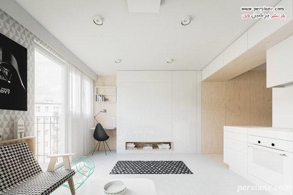 دکوراسیون خانه های 40 متری