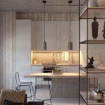 طراحی داخلی مدرن برای دکوراسیون خانه های ۴۰ متری و کمتر