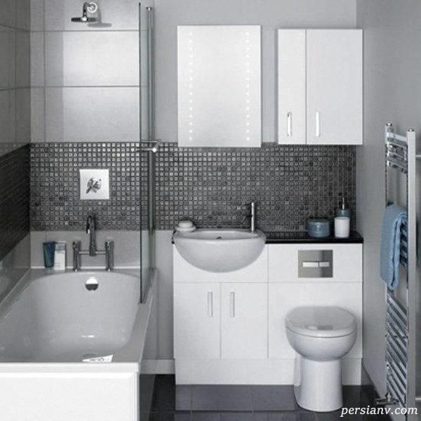 دکوراسیون دستشویی کوچک